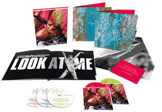 Freddie Mercury - Never Boring (Boxset)  - (CD + DVD Video)