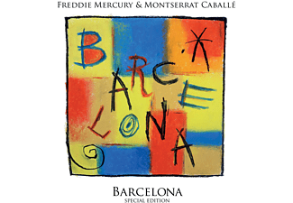 Freddie Mercury, Montserrat Caballé - Barcelona  - (CD)