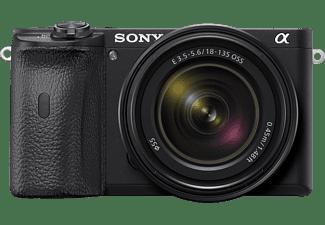 SONY Systemkamera Alpha 6600 schwarz mit Objektiv E 18-135mm 3.5-5.6 OSS (ILCE-6600MB)