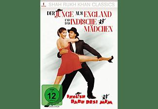 Der Junge aus England und das Indische Mädchen DVD