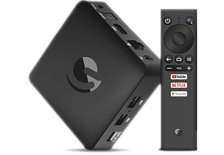 STRONG Streaming Box SRT202 EMATIC 4K Android TV Box