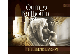 Oum Kalthoum - LEGEND LIVES ON  - (CD)