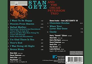 Stan Getz - STAN GETZ AND THE OSCAR..  - (CD)