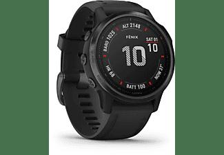GARMIN Fenix 6s Pro Smartwatch Metall Silikon, 108-182 mm, Schwarz