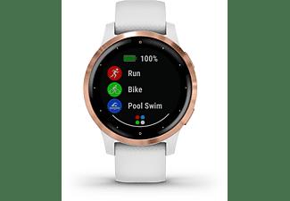 GARMIN Smartwatch Vivoactive 4S, weiß/rosegold (010-02172-22)