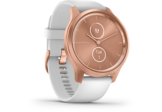 GARMIN Vivomove Style Smartwatch Aluminium Silikon, k.A., Rosegold