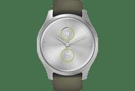 GARMIN Vivomove Style Smartwatch Aluminium Silikon, k.A., Moosgrün/Silber