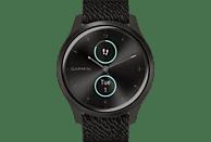 GARMIN Vivomove Style Smartwatch Aluminium Nylon, k.A., Schwarz