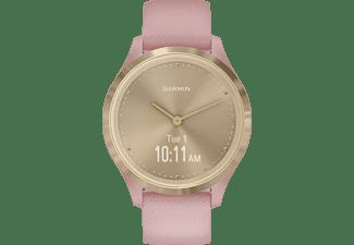 GARMIN Vivomove 3S Sport Smartwatch Polymer Silikon, k.A., Rosa/Weißgold