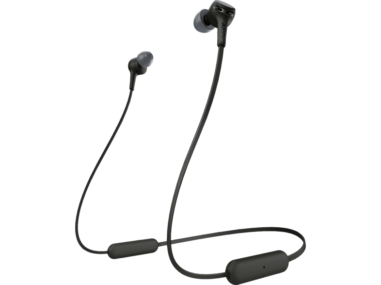 SONY WI-XB400, Neckband Kopfhörer Bluetooth Schwarz