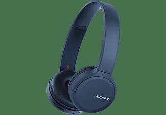 SONY WH-CH510, On-ear Kopfhörer, Headsetfunktion, Bluetooth, Blau