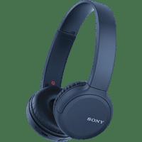 SONY WH-CH510, On-ear Kopfhörer Bluetooth Blau