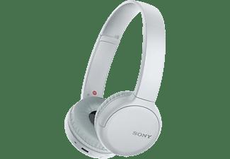 SONY WH-CH510, On-ear Kopfhörer, Headsetfunktion, Bluetooth, Weiß