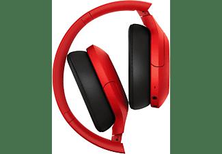 SONY h.ear on 3 WH-H910N, Over-ear Kopfhörer Bluetooth Rot