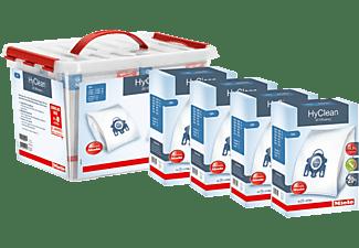 Bolsas de aspirador - Miele SB SET GN CareBox 3D, 16 Bolsas, 4 Protecciones de motor, 4 Filtros de aire, Caja