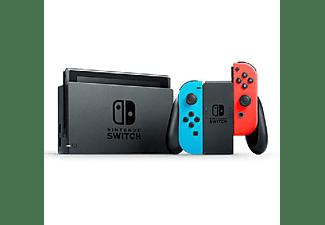 "REACONDICIONADO Consola - Nintendo Switch Modelo 2019, 6.2"", Joy-Con, Azul y Rojo Neón"