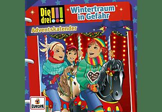 Die Drei ??? - Adventskalender-Wintertraum in Gefahr  - (CD)