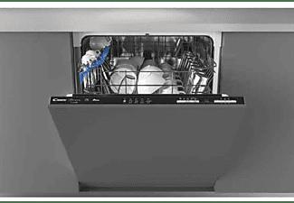 Lavavajillas - Candy Brava CDIN1L380PB, 13 servicios, 5 programas, 60cm ancho, WIFI, Ciclo rápido 39', Inox