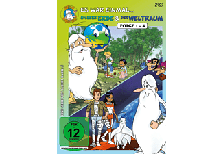 Es war einmal… Unsere Erde & Der Weltraum, Folge 1- 4 DVD