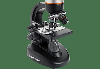 CELESTRON Tetraview Digitales LCD-Mikroskop, Mikroskop, Schwarz/Silber