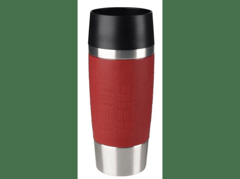 Thermos viaje vaso termo rojo 0,4 L