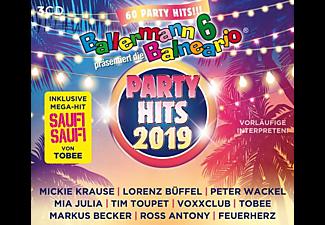 VARIOUS - Ballermann 6 Balneario Präs.Die Party Hits 2019  - (CD)