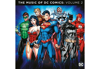 VARIOUS - THE MUSIC OF THE DC COMICS VOLUME 2 - (Vinyl)
