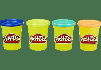 PLAY-DOH Play-Doh 4er Pack WILD Spielset, Mehrfarbig