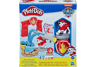 PLAY-DOH Play-Doh PAW Patrol Feuerwehrhund Marshall Spielset, Mehrfarbig