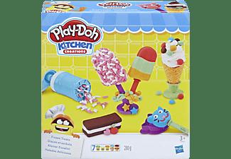 PLAY-DOH Play-Doh Kleiner Eissalon Spielset, Mehrfarbig
