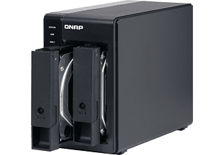 QNAP NAS Gehäuse Expansion Unit TR-002 schwarz