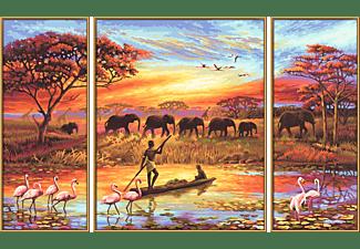 SCHIPPER MNZ - Afri-Zauber eines Konti (Triptych) Malset Mehrfarbig