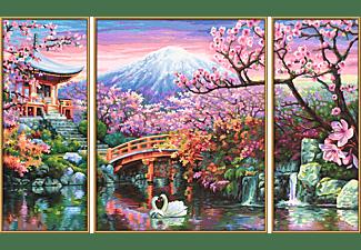 SCHIPPER MNZ - Kirschblüte in Japan (Triptychon) Malset Mehrfarbig