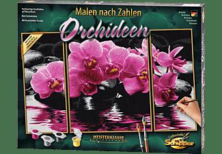 SCHIPPER MNZ - Orchideen (Triptychon) Malen nach Zahlen Mehrfarbig