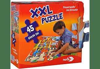 NORIS XXL Puzzle Feuerwehr im Einsatz Puzzle Mehrfarbig