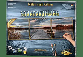 SCHIPPER MNZ - Sonnenaufgang am See (Tript.) Malset Mehrfarbig