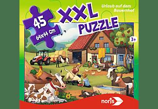 NORIS XXL Puzzle Urlaub auf dem Bauernhof Puzzle Mehrfarbig