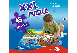 NORIS XXL Puzzle Piraten in Sicht Puzzle Mehrfarbig