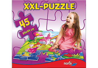 NORIS XXL Puzzle Feenland Puzzle Mehrfarbig