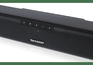 Barra de sonido - Sharp HT-SBW110, 2.1, Con Subwoofer, 180 W, Bluetooth, HDMI, Negro