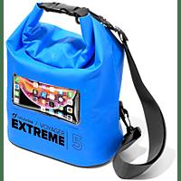 CELLULAR LINE Wasserundurchlässige Strandtasche Voyager Extreme - 5L, blau
