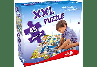 NORIS XXL Puzzle Auf Streife mit der Polizei Puzzle Mehrfarbig
