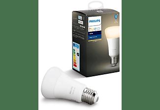 Bombilla Bluetooth - Philips Hue LED E27, Luz blanca cálida, Domótica