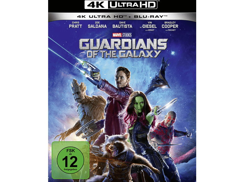 GUARDIANS OF THE GALAXY4K(UHD+2D)-UHD ST [4K Ultra HD Blu-ray + Blu-ray]