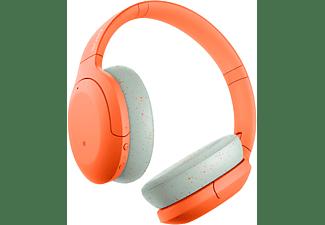 SONY h.ear on 3 WH-H910N, Over-ear Kopfhörer Bluetooth Orange
