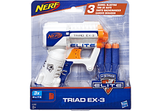 NERF N-Strike Elite Triad Spielzeugblaster Weiß/Blau