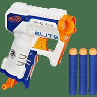 NERF N-Strike Elite Triad Spielzeugblaster, Weiß/Blau