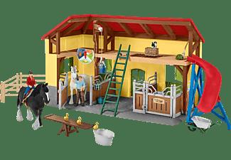 SCHLEICH Pferdestall Spielfigur Mehrfarbig