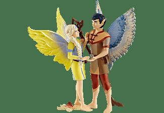 SCHLEICH MOVIE Sera und Jaro Spielfigur Mehrfarbig
