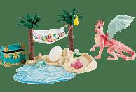 SCHLEICH Dracheninsel mit Schatz Spielfiguren, Mehrfarbig